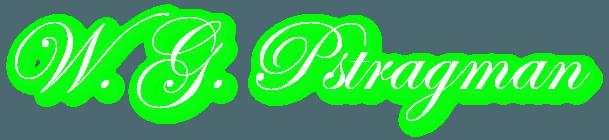 W. G. Pstragman Logo