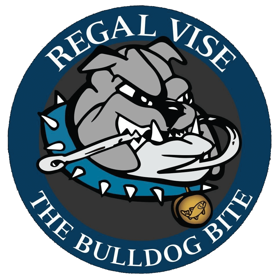 Regal Vise The Bulldog Bite Logo